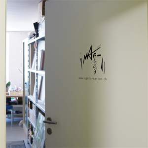 Atelier Eingang