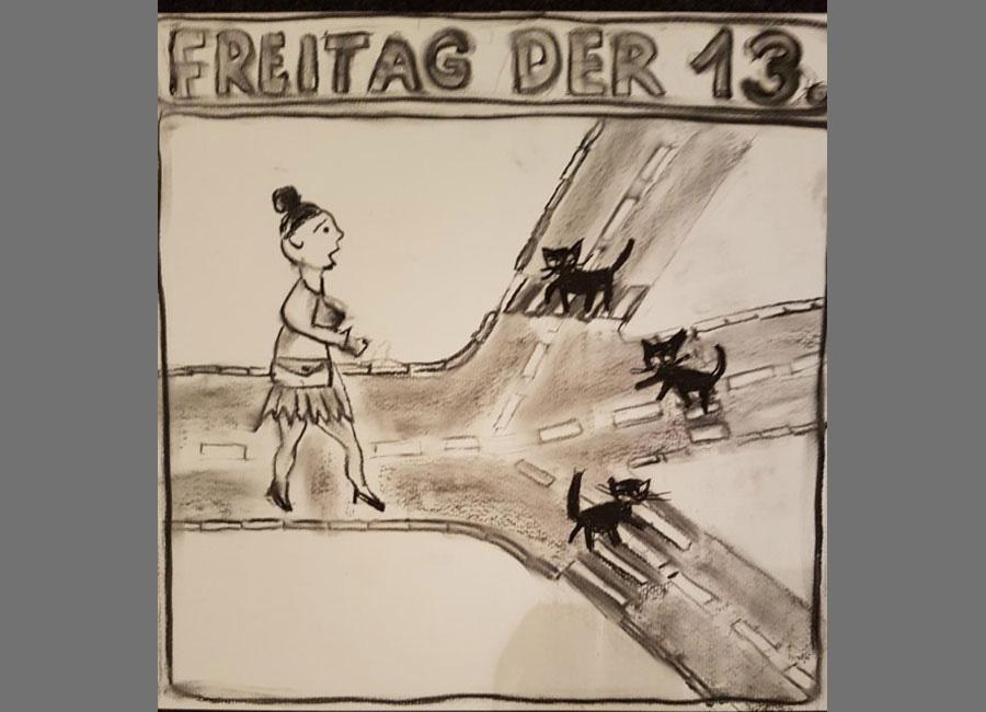 """Freitag-der-13. / Zeitung """"der Freiämter"""" 2017"""