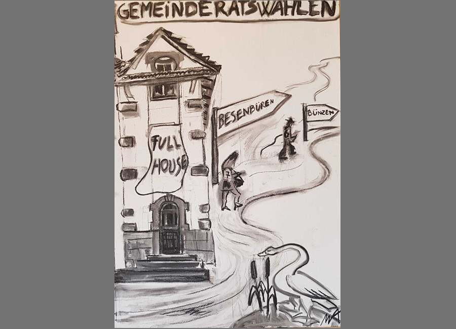 """Gemeinderatswahlen in Merenschwand / Zeitung """"der Freiämter"""" 2017"""
