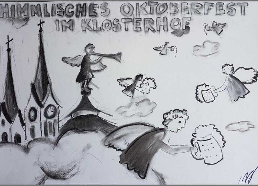 """Himmlisches Oktoberfest im Klosterdorf / Zeitung """"der Freiämter"""" 2017"""