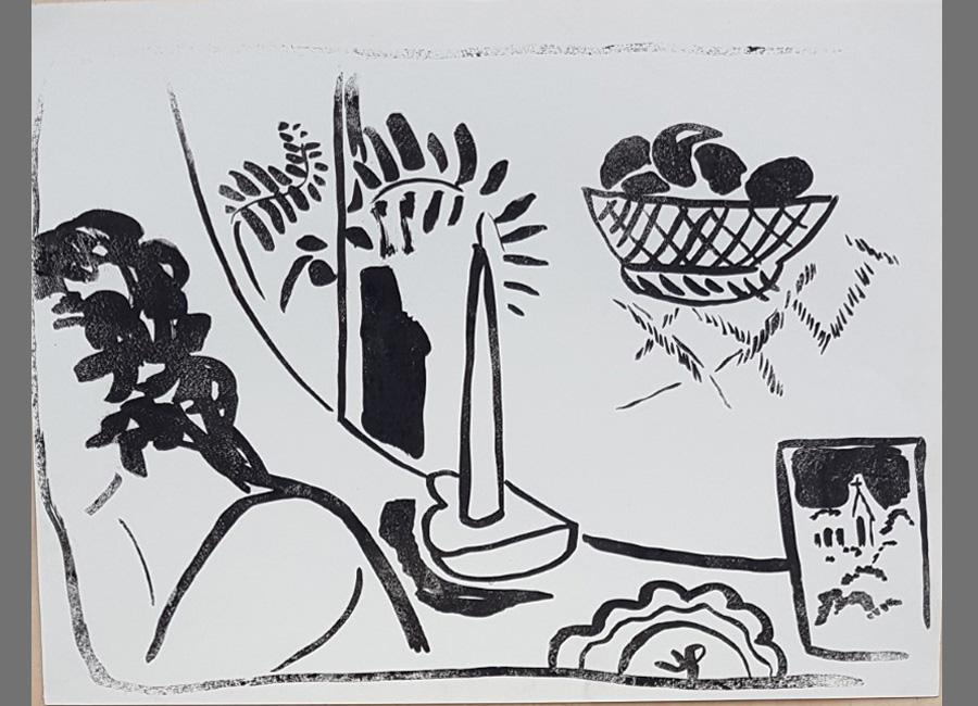 Im-Spiegel-Lithographie-34x46cm
