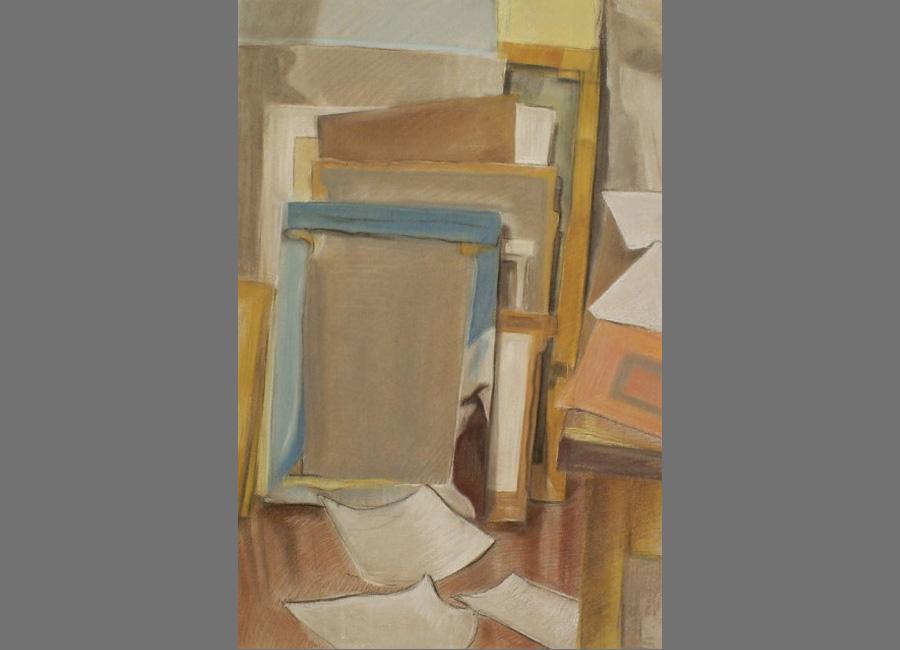 Leinwände,-Pastell,-64x48cm