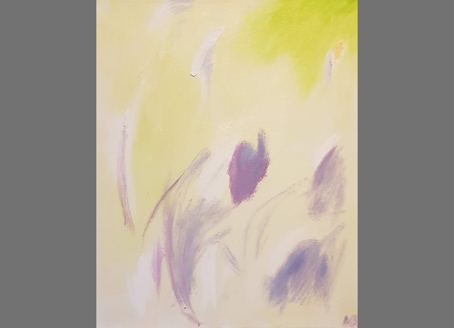 Vegetation-I,-60x50 cm