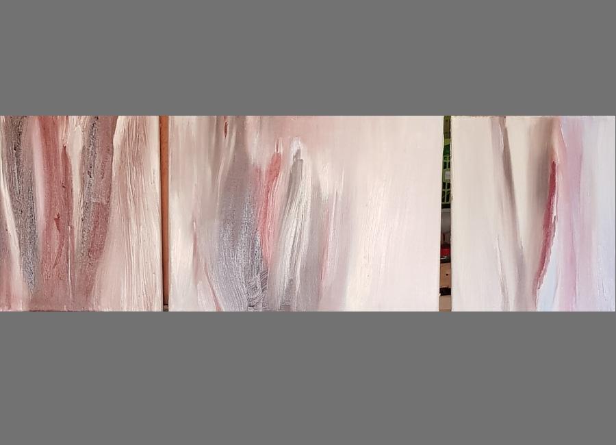Wandlungen,-Triptychon,-24x30cm,-30x40cm,-24x30cm